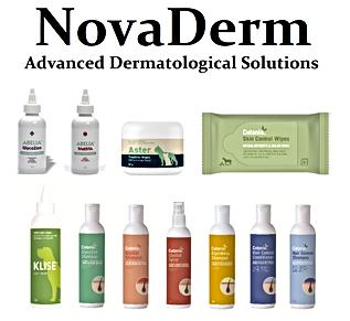 NovaDerm range of dermatalogical products