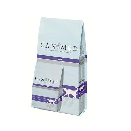 SANIMED Senior Cat Sample 125g Pack x 2