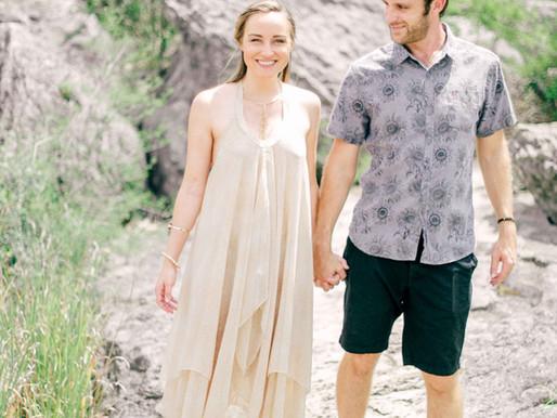Austin Wedding Photographer- Pedernales Falls Fine Art Engagement Session