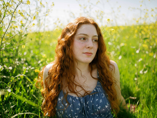 Emma- a springtime senior session