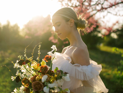 An Ethereal Spring Elopement