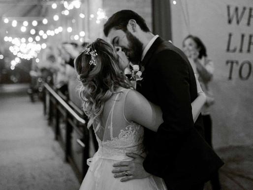 Megan & Dawson: The Eagle Historic Warehouse Wedding