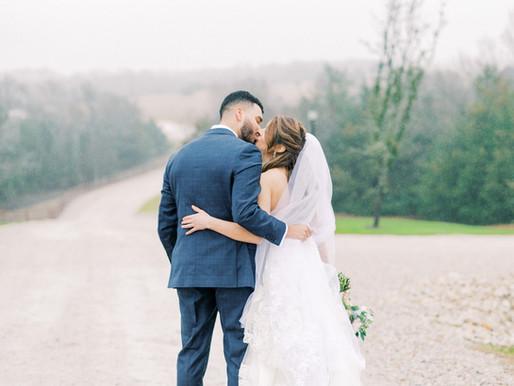 Aurora & David- Tuscany Hill Wedding