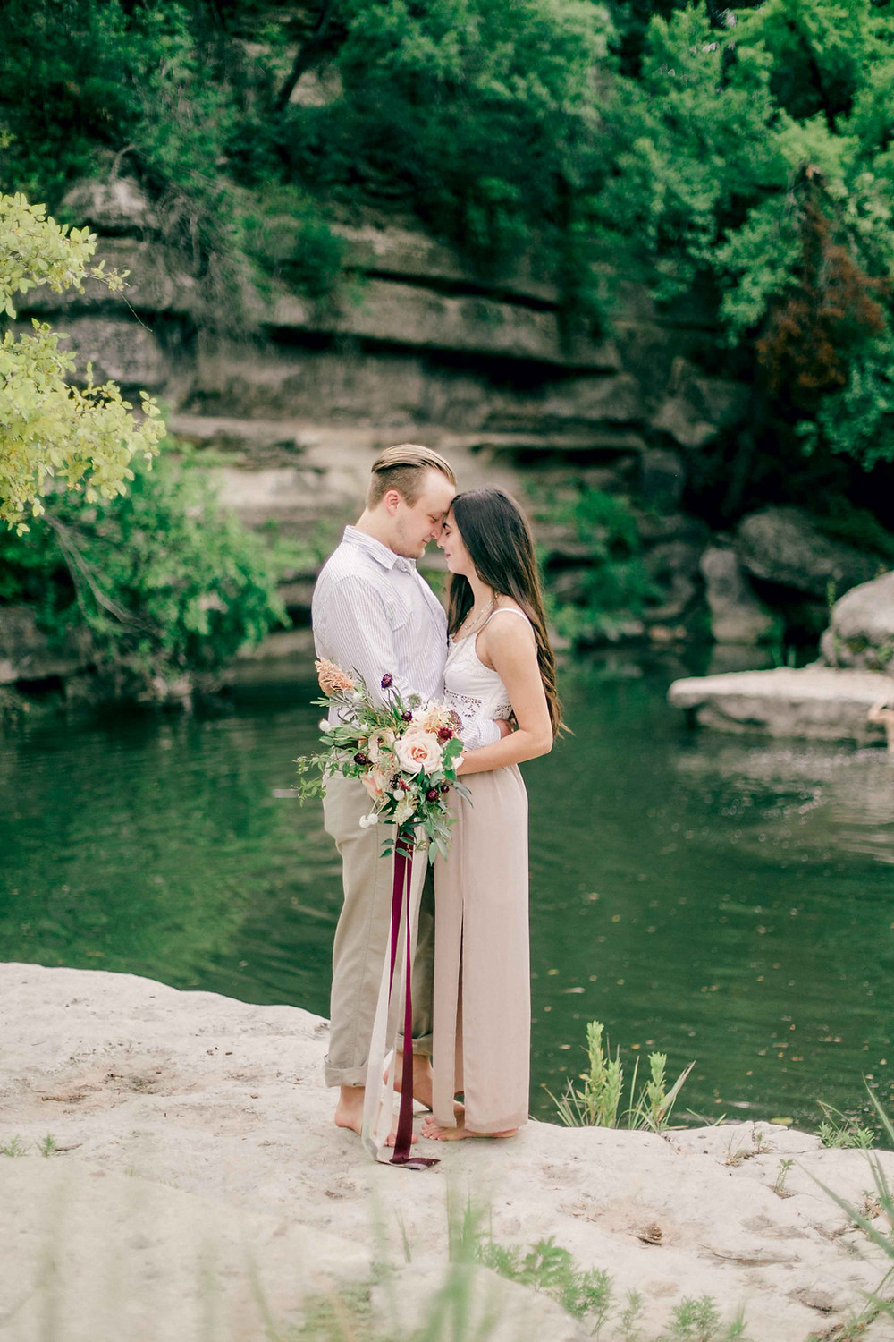 Bull Creek Fine Art Engagement Session Katie Chang Photography