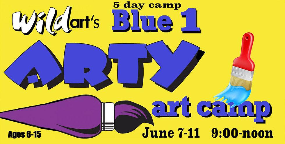 June 7-11 Camp Blue #1   9:00-noon