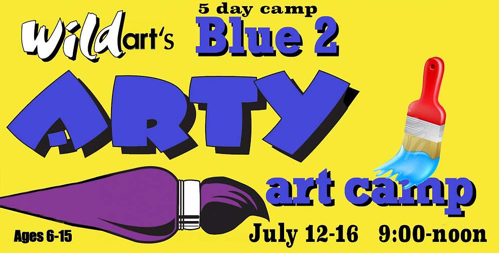 July 12-16 Camp Blue #2   9:00-noon