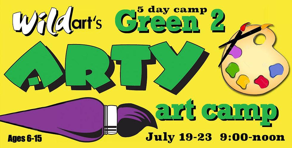 July 19-23 Camp Green#2   9:00-noon