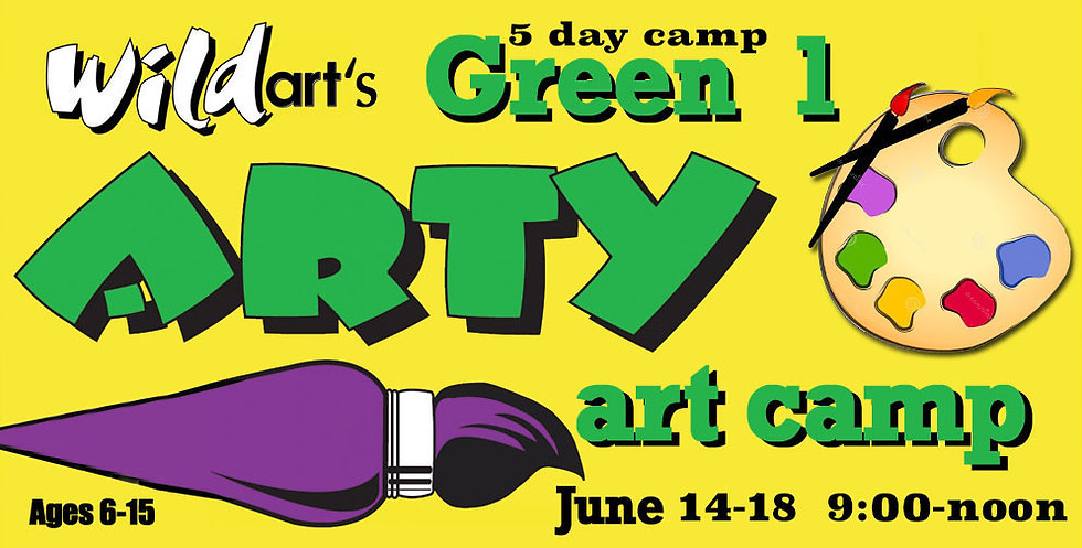 June 14-18 Camp Green#1   9:00-noon