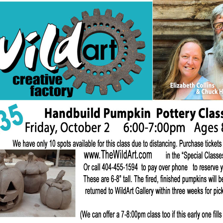 Pumpkin Pottery class