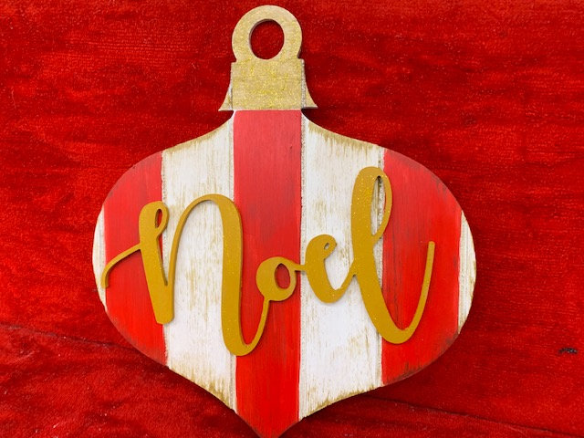 Noel board-Wood Wednesday 12/2