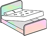 An Ottoman storage lift bed image