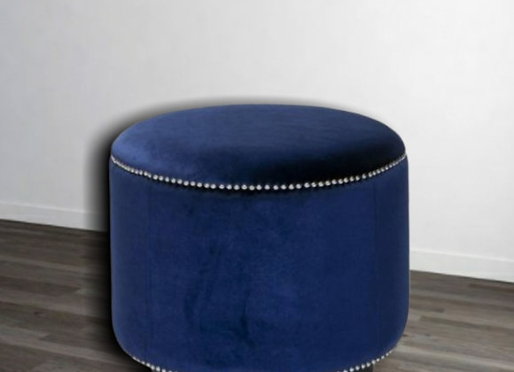 "Round Stools | round Seats | (20""×20"") in Plush fabric"