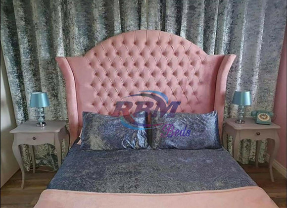 Alexandra wing back bed