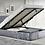 Thumbnail: Gas lift ottoman storage / Plain Head board and foot board foot.