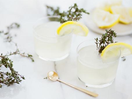 Tom Collins Cider Cocktail