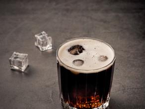 Dark & Stormy Cider Cocktail