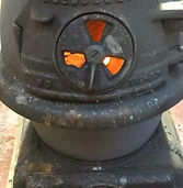 The little pot belly stove that warmed o
