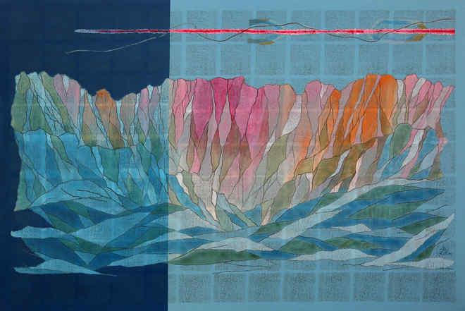 Blue mountain III
