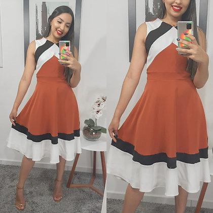 Vestido Sintonia Perfeita