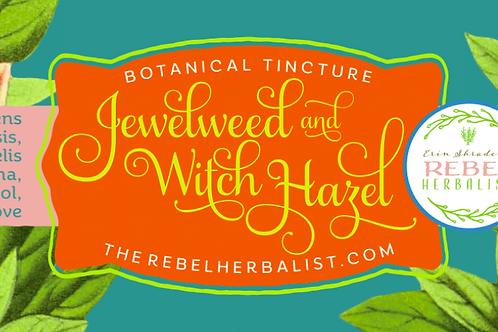 Jewelweed And Witch Hazel Spray