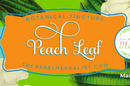 Peach Leaf Tincture