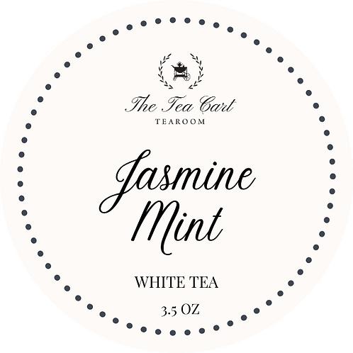 Jasmine Mint 3.5 oz Tin