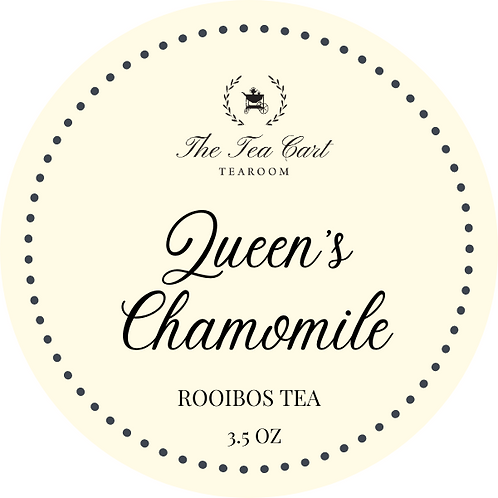 Queen's Chamomile 3.5 oz Tin