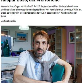 Interview Jungfrauzeitung