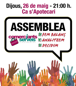Assemblea General: dijous 26 de maig