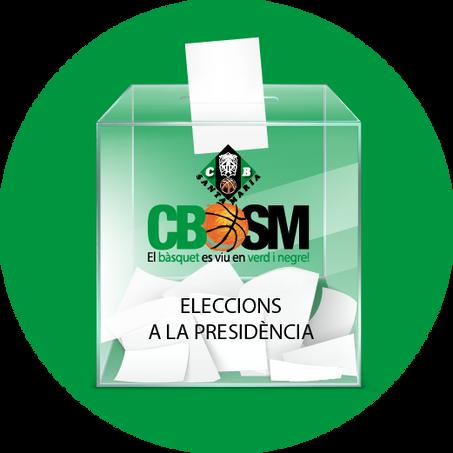 Eleccions al Club Bàsquet Santa Maria