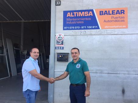 Altimsa Balear renova el seu patrocini