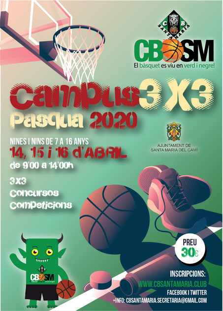 Campus 3X3 Pasqua 2020