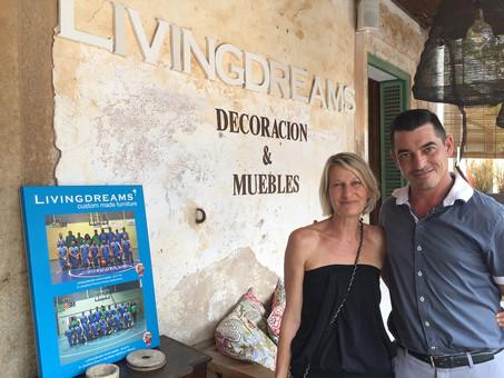 Livingdreams renova com a patrocinador