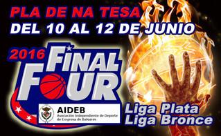 Festa final temporada Aideb bàsquet