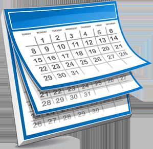 Filing Deadline Calendar Update