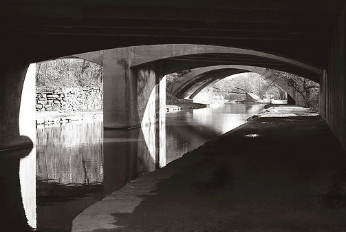 Overpass at the C&O Canal in Georgetown Untitled 1