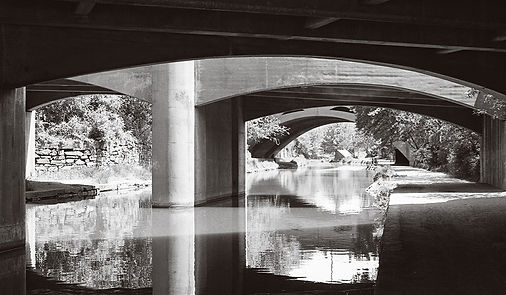 View of an overpass at the C&O Canal in Washington, DC Untitled 2