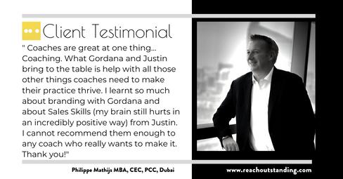 Philippe Mathijs MBA, CEC, PCC, Trainer