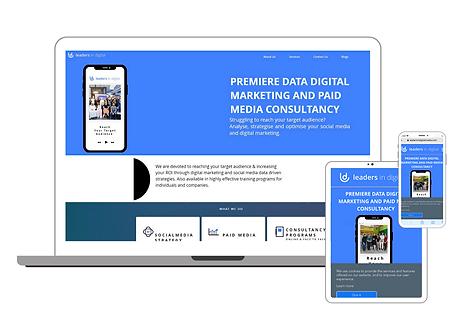 Leadersinddigital Website
