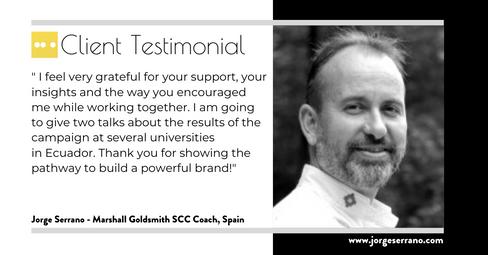 Jorge Serrano - Marshall Goldsmith Coaching
