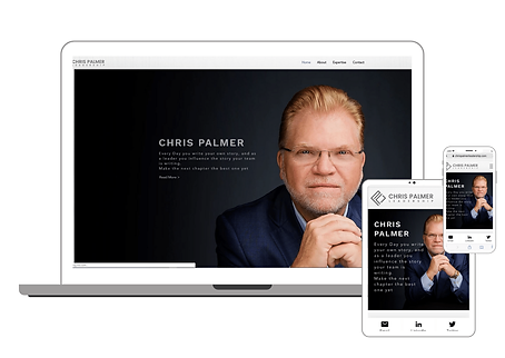 Chris Palmer Executive Coaching Website