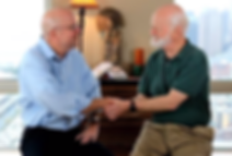 Marshall Goldsmith and Andy Taylor