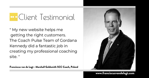 Fransiscus van de Logt - Marshall Goldsmith Coaching