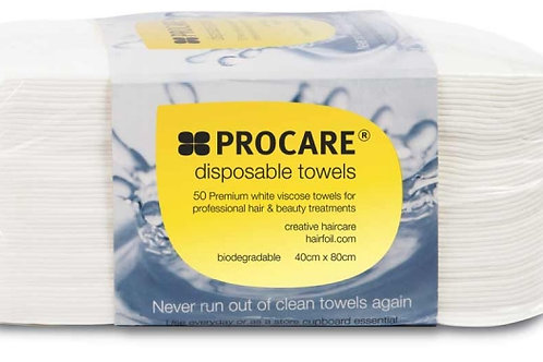 Procare Disposable Towels ( Pack of 50 )