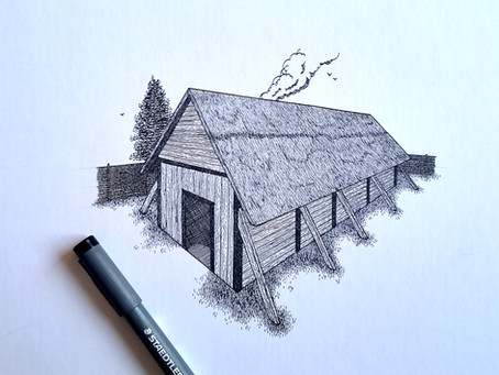 Viking Longhouse Shading Tutorial