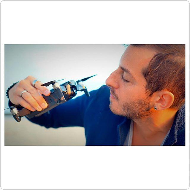 🔴⚪Occhi negli occhi con il Mavic Air⚪🔴