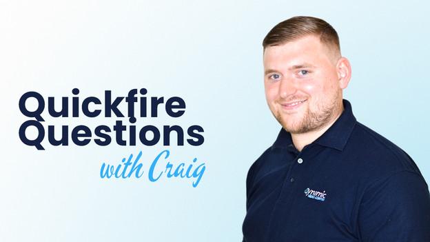 Quickfire Questions: Craig, Sameday Fleet Liaison Officer
