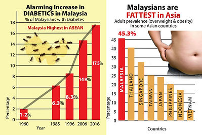 Fattest Country in Asia