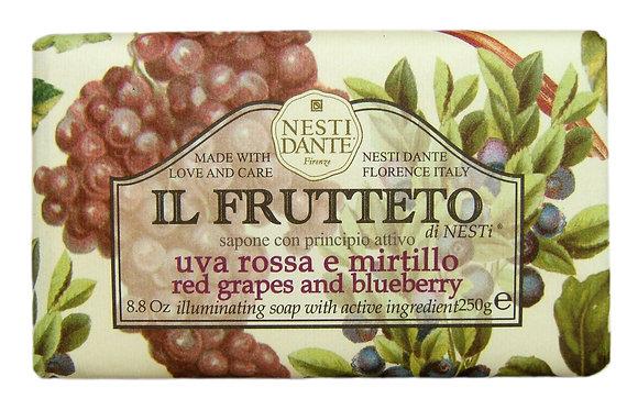 Il Frutteto Red Grapes & Blueberry 250g (EK/Stück:2.77, UVP: 5.49)