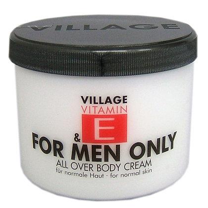 Vitamin E Body Cream 500ml For Men Only (EK/Stück: 3.27, UVP: 6.49)